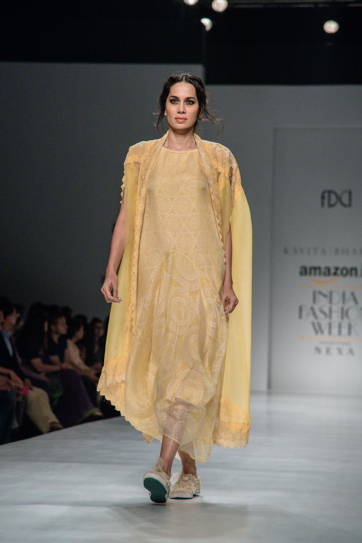 Kavita Bhartiya FDCI Amazon India Fashion Week Spring Summer 2018 Look 13