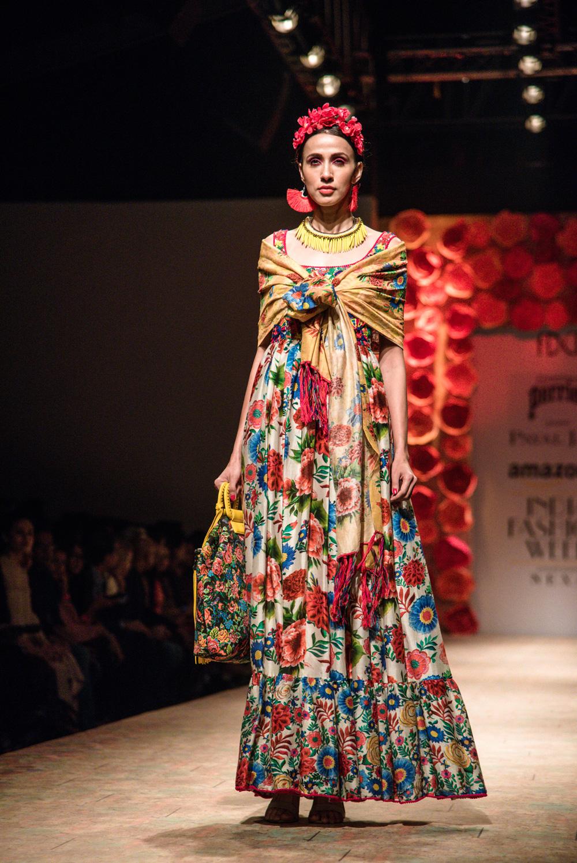 Payal Jain FDCI Amazon India Fashion Week Spring Summer 2018 Look 8