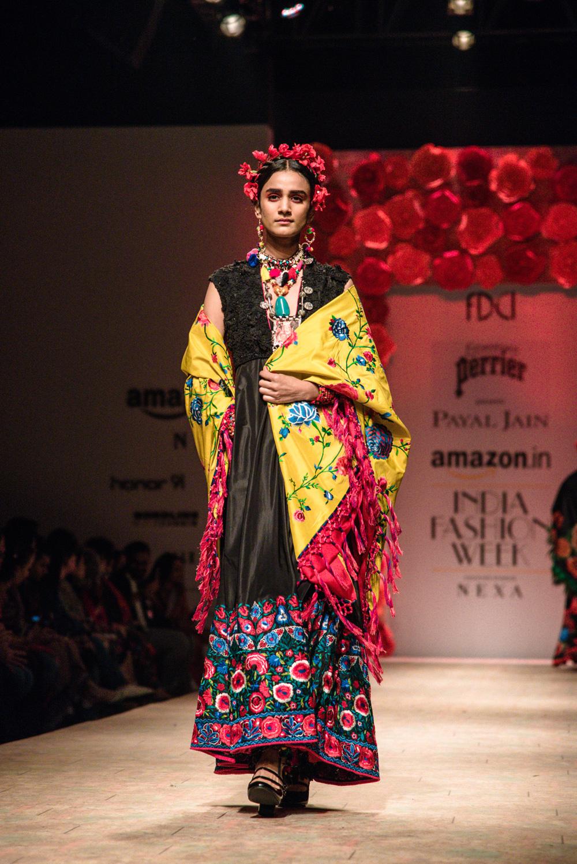 Payal Jain FDCI Amazon India Fashion Week Spring Summer 2018 Look 23