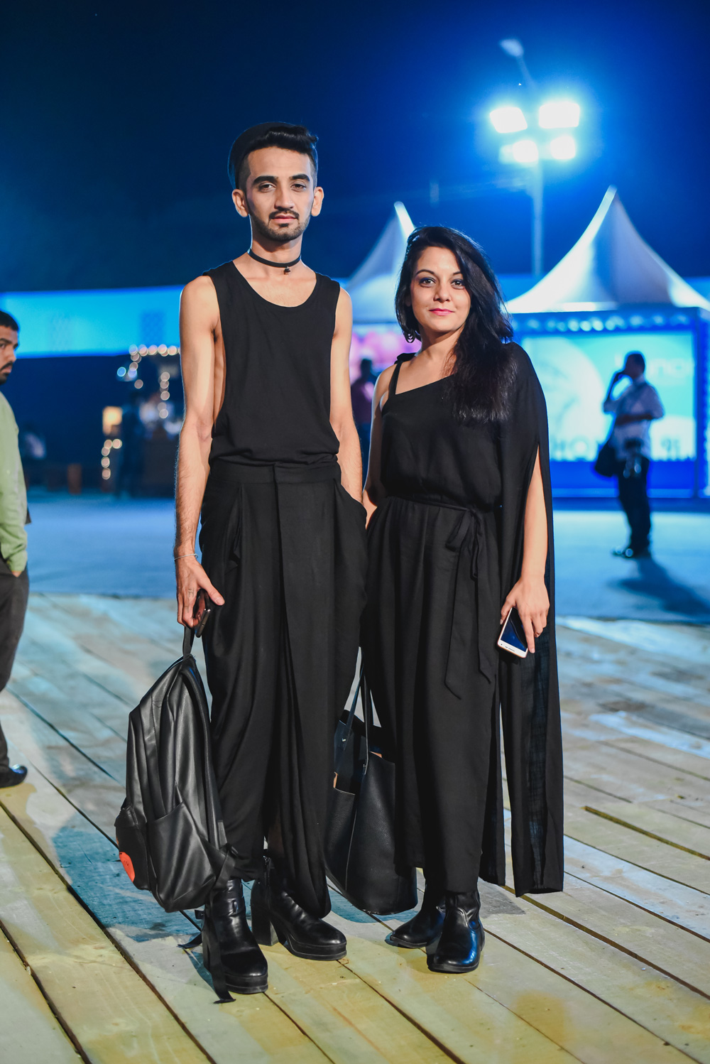 Anaam | Street Style Amazon India Fashion Week Spring Summer 2018; Photo by The Co Lab