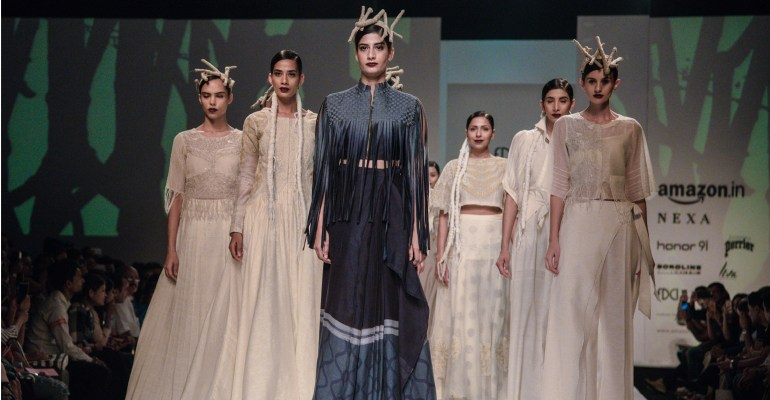 Ekru by Ektaa FDCI Amazon India Fashion Week Spring Summer 2018 Featured