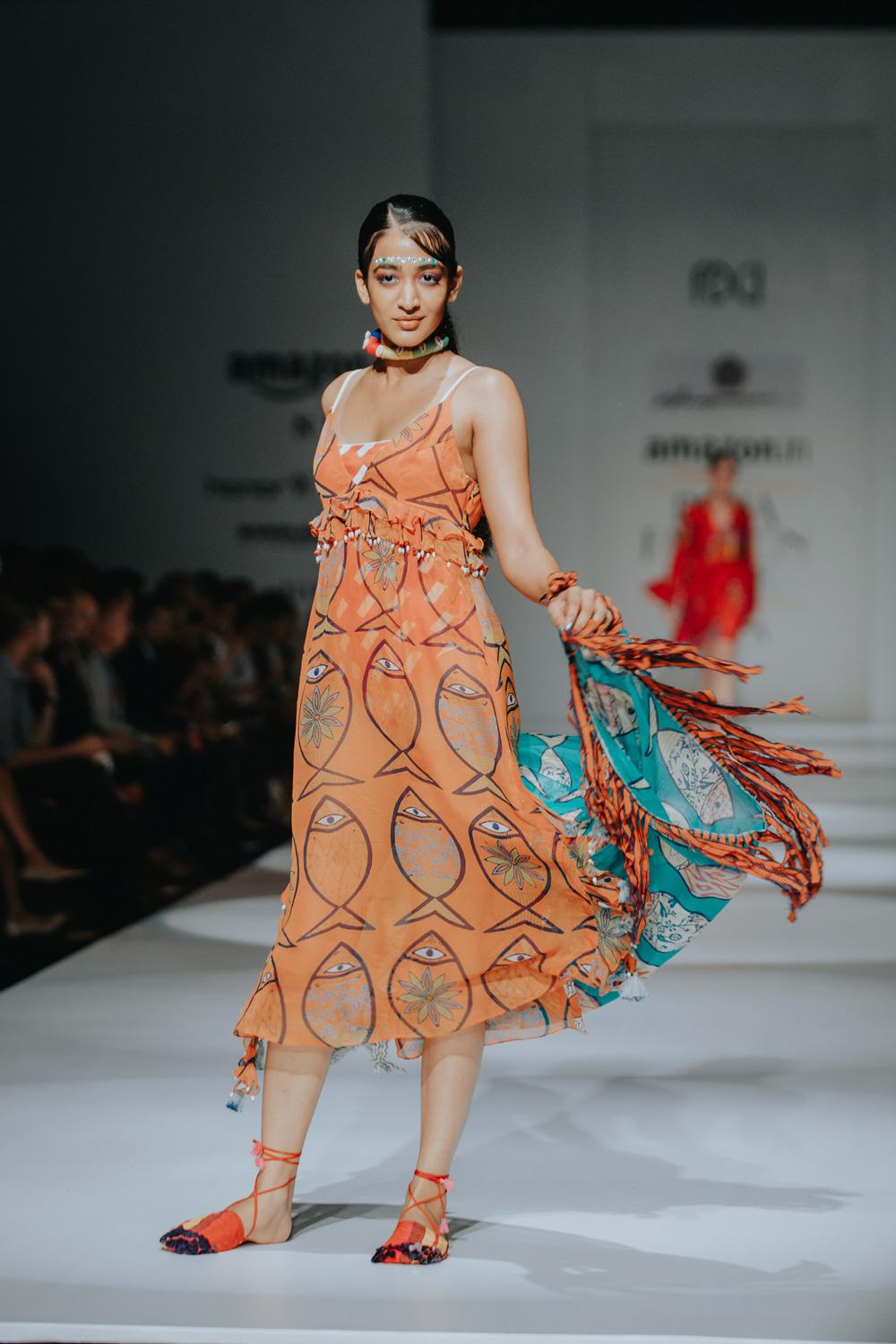 Anupamaa by Anupama Dayal FDCI Amazon India Fashion Week Spring Summer 2018 Look 1