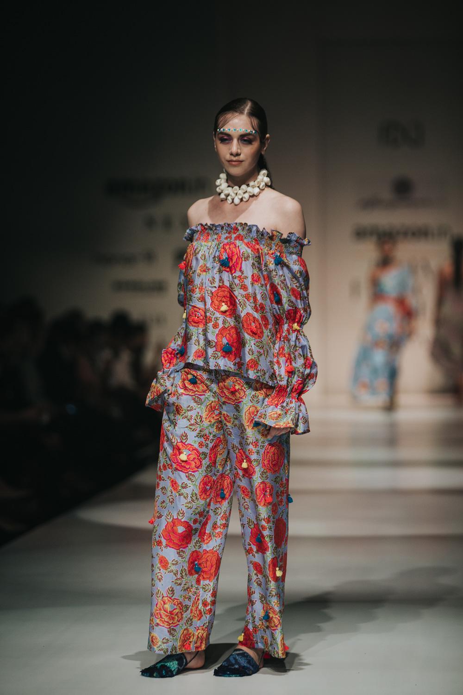 Anupamaa by Anupama Dayal FDCI Amazon India Fashion Week Spring Summer 2018 Look 10