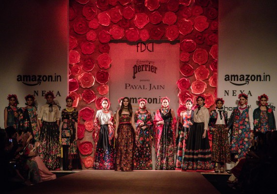 Payal Jain FDCI Amazon India Fashion Week Spring Summer 2018 Featured