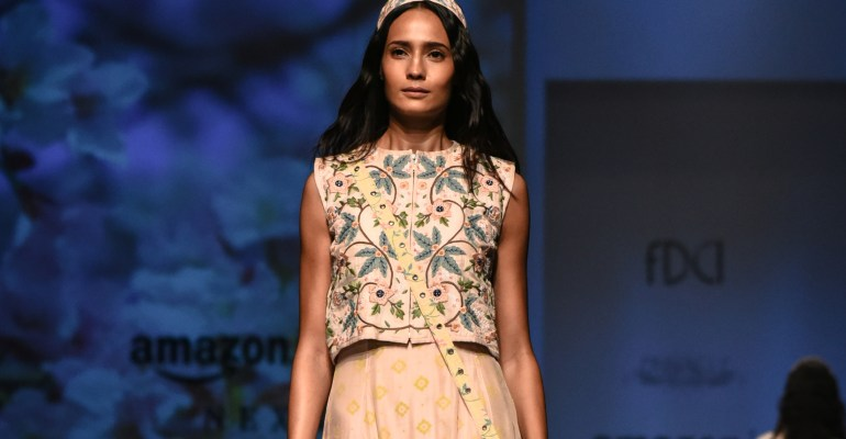 Pinnacle by Shruti Sancheti FDCI Amazon India Fashion Week Spring Summer 2018 Featured