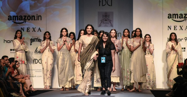 Pramaa by Pratimaa FDCI Amazon India Fashion Week Spring Summer 2018 Featured