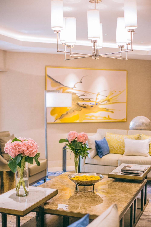 Shangri-la New Delhi Presidential Suite Living Room