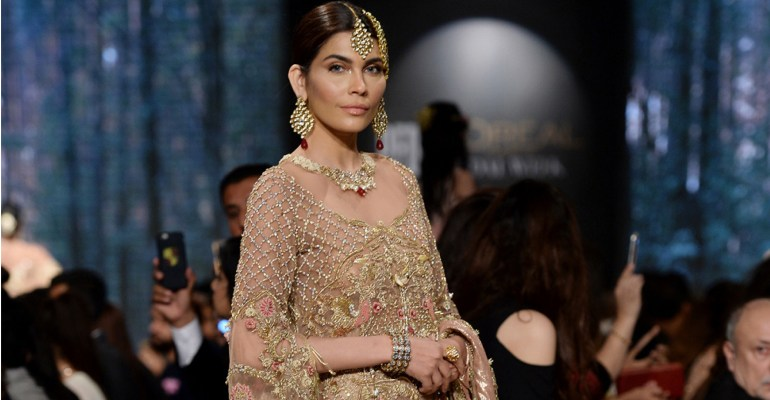 Shiza Hassan PFDC L'Oreal Paris Bridal Week 2017 Featured
