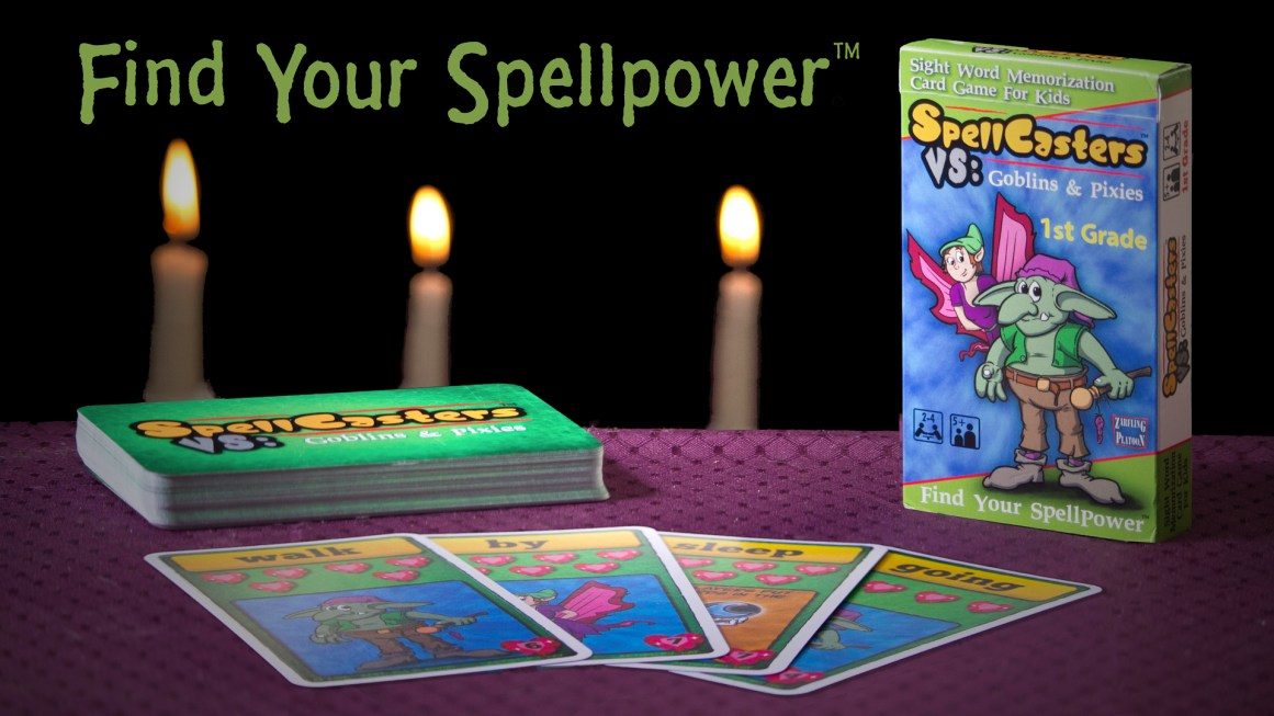 Find your Spellpower with Spellcasters VS: Pixies VS Goblins card game