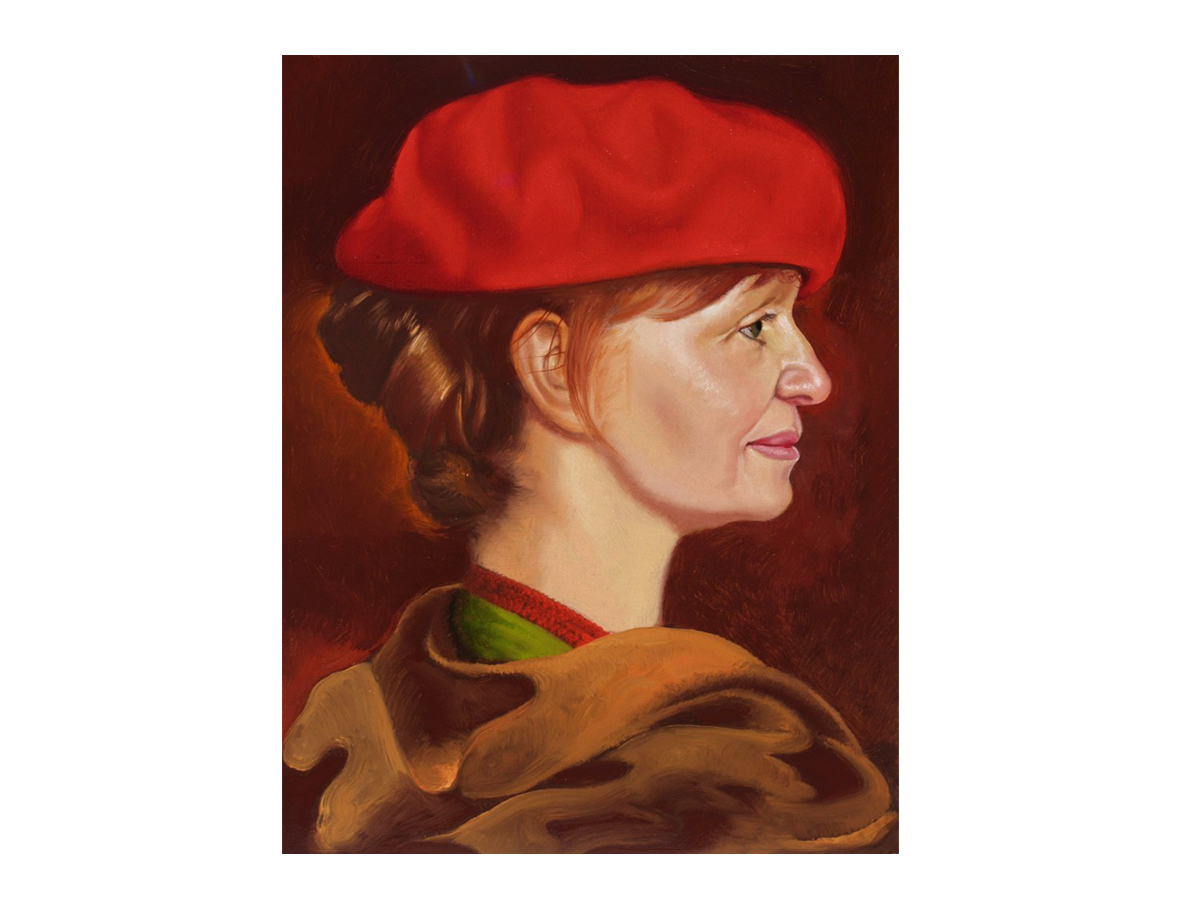 Fanny in a Red Beret