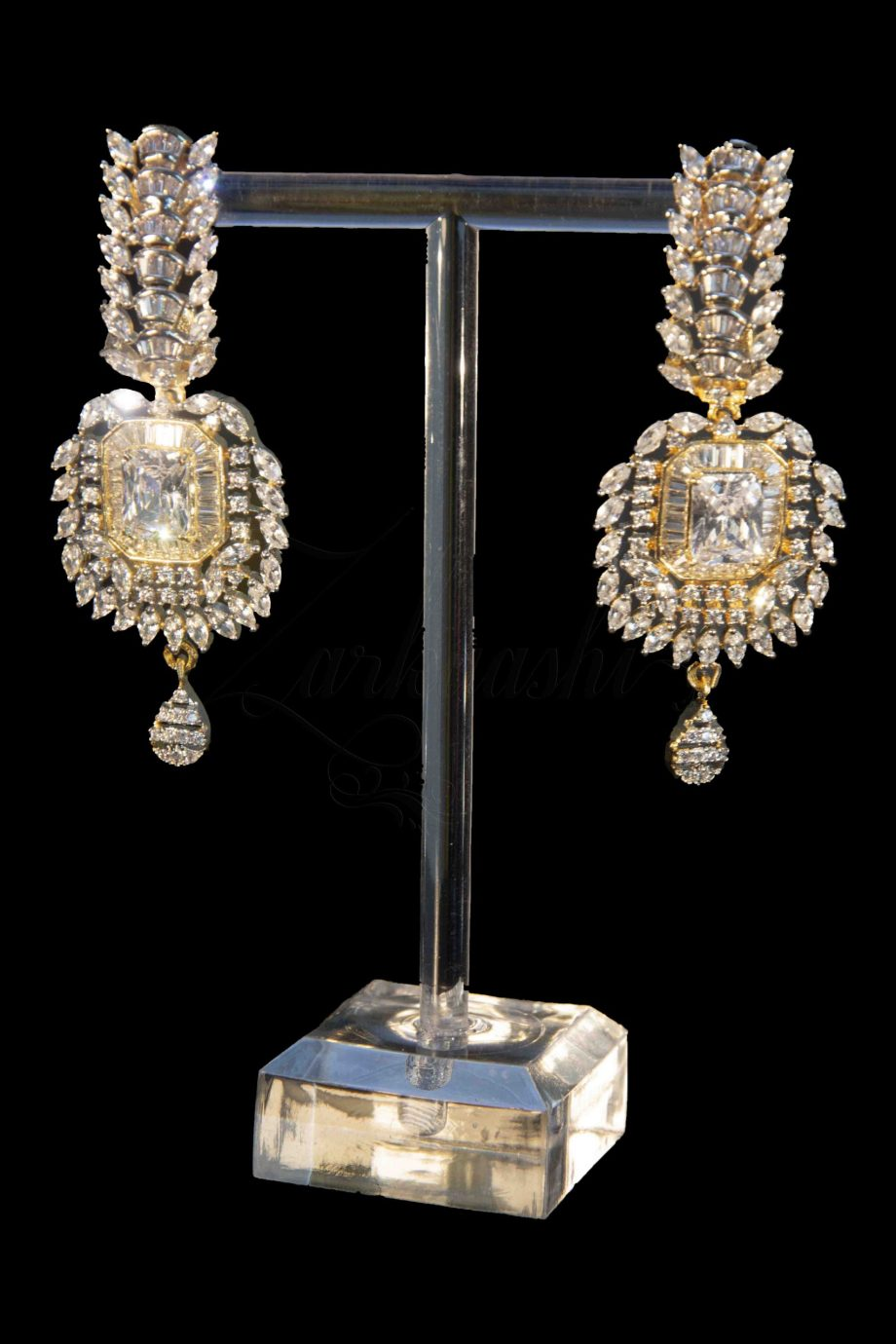 Elegant CZ Earrings