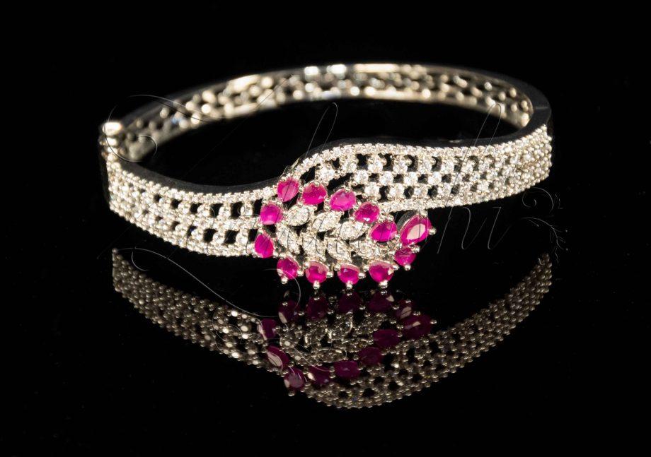 Ruby CZ Bracelet