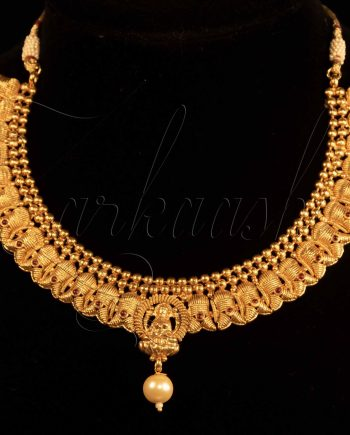 Temple Pearls Necklace Set