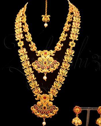 Double Temple Necklaces Set