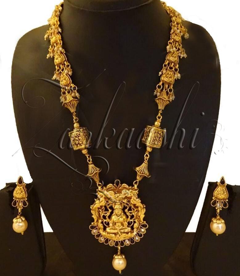 Goddess Laxmi Necklace Set