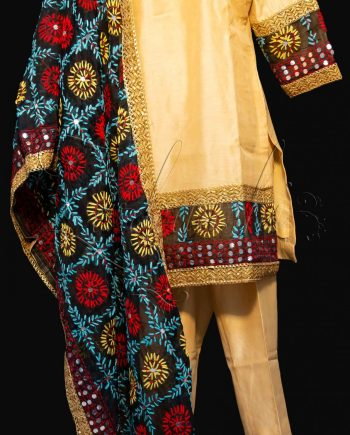 Best Chanderi Suit with Pants