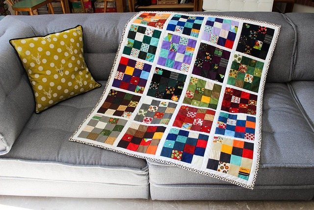 Checkers quilt 1