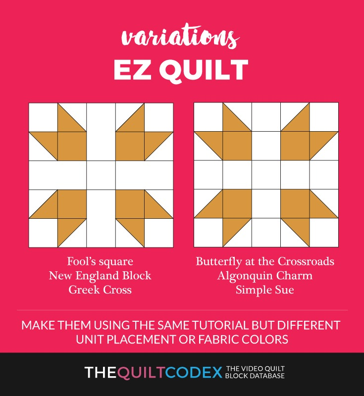 EZ-quilt-block-variations