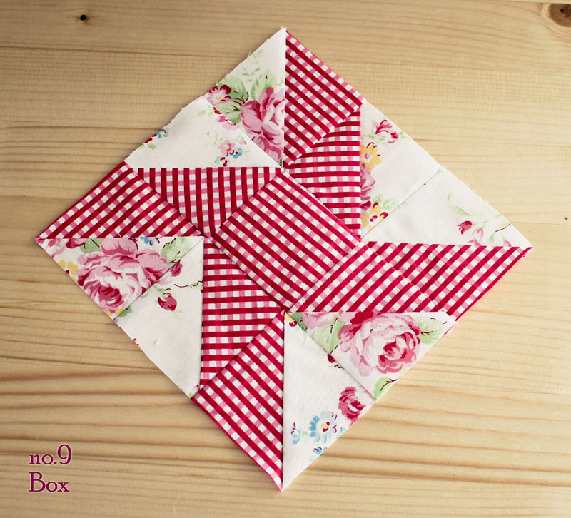 eccentric star quilt block