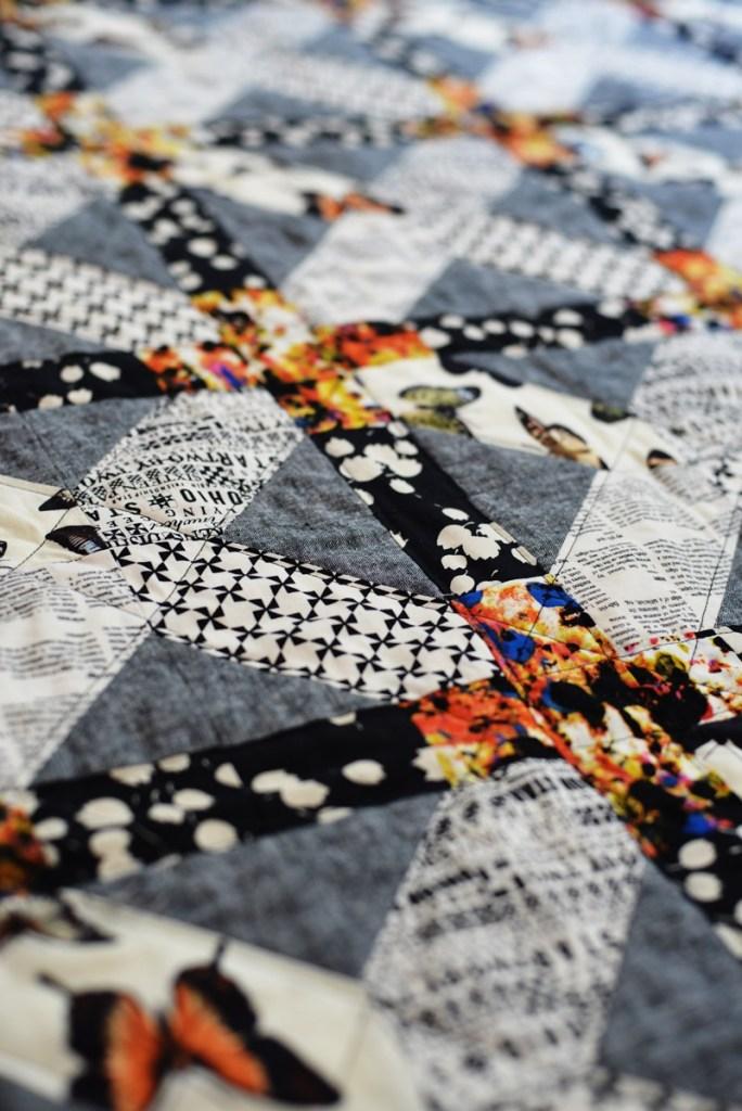 Lattice quilt block