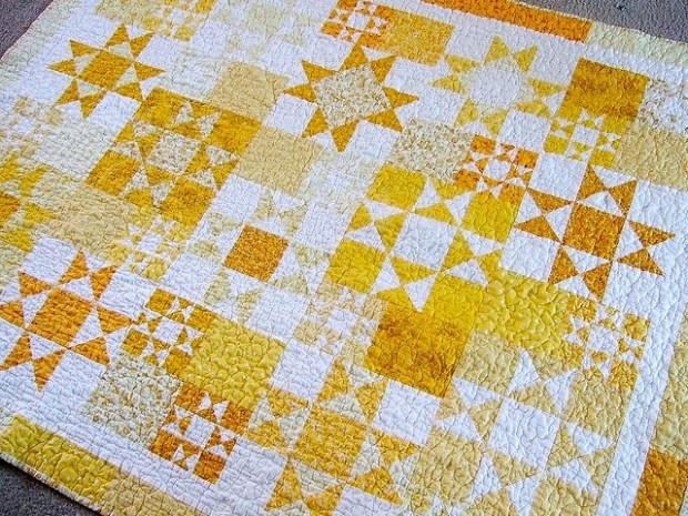 Ohio star quilt