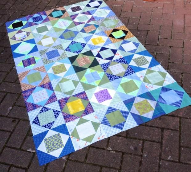 economy quilt block quilt