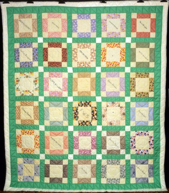 Sheep Fold quilt