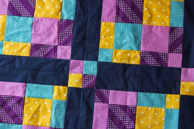 Scots Plaid baby quilt