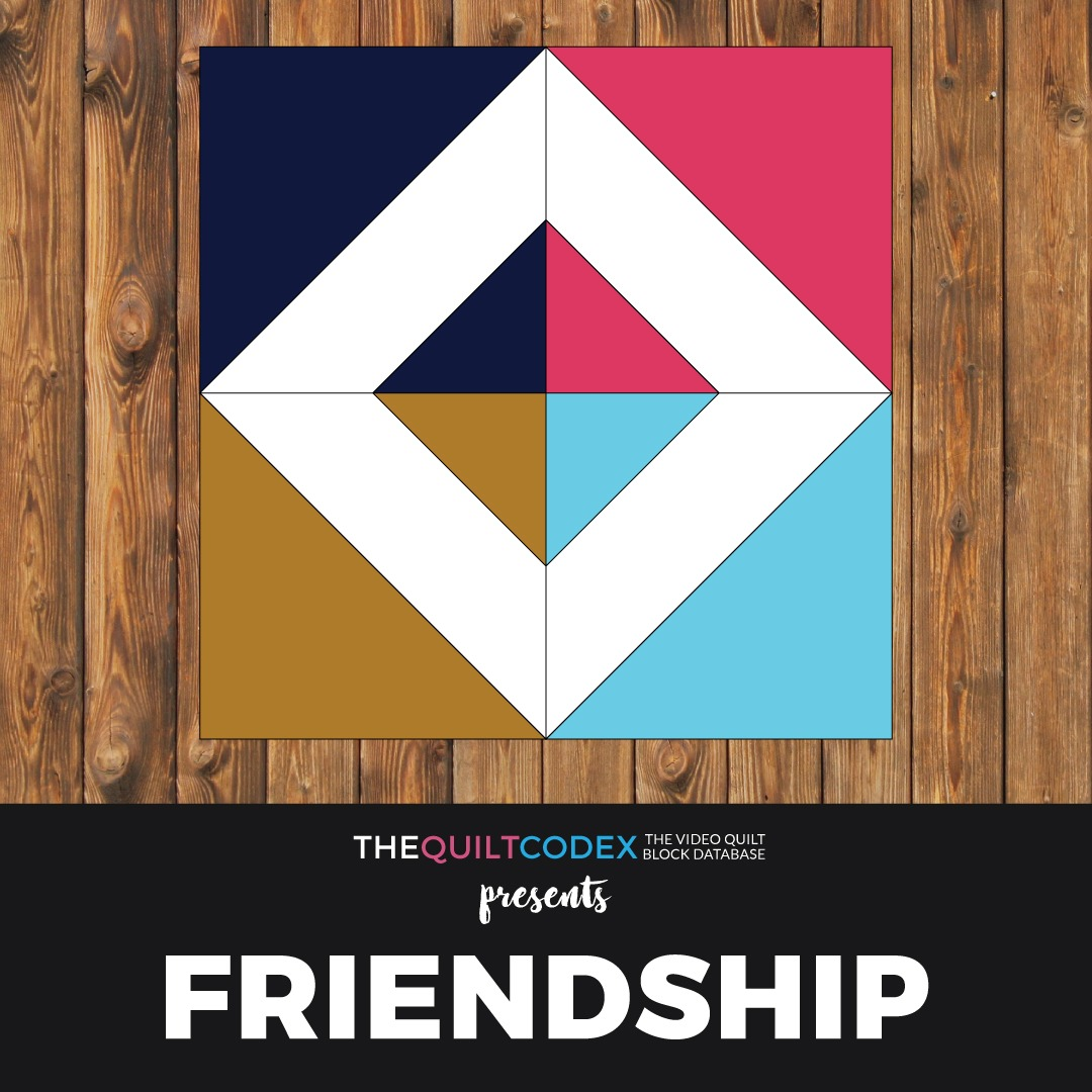 friendship quilt block tutorial