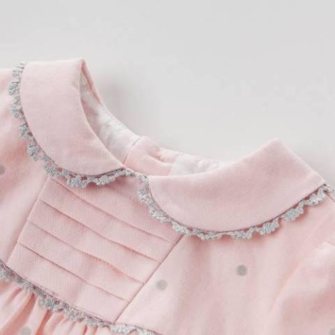 فستان بنات ناعم موقع زركشة