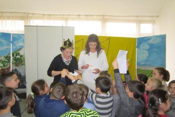 Представа за децу Бајка о рибару и рибици