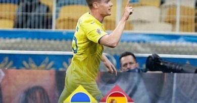 Збірна України здобула історичну перемогу над збірною  Іспанії  в Лізі Націй