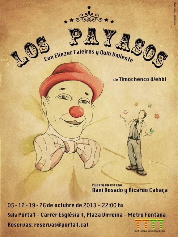 Companhia 33 Ânimos, Los Payasos.