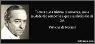 Vinícius de Moraes e suas frases