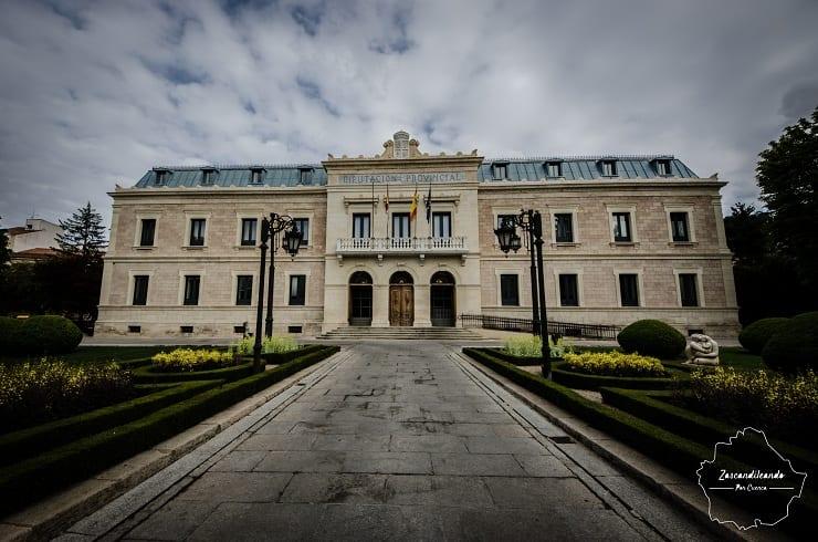 Fachada de la Diputación Provincial de Cuenca