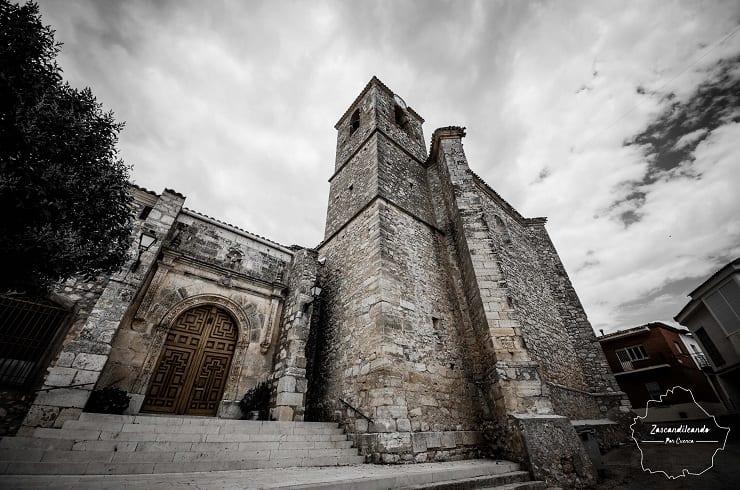 iglesia de Almendros, Cuenca