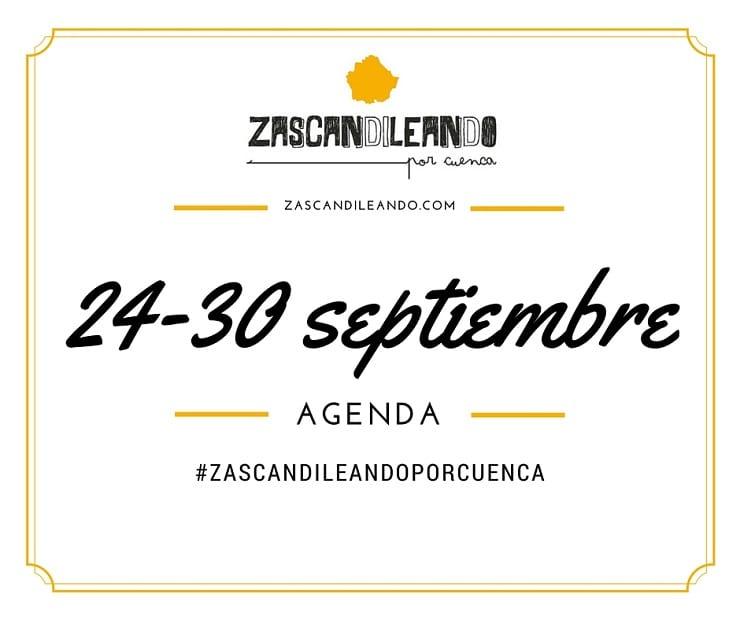 Agenda en Cuenca del 24 al 30 de septiembre de 2015