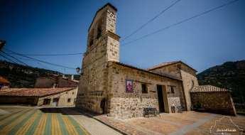 Iglesia de San Miguel Arcangel, en Uña