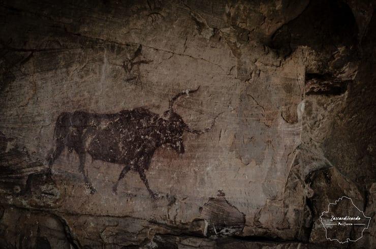 Pinturas rupestres de Villar del Humo
