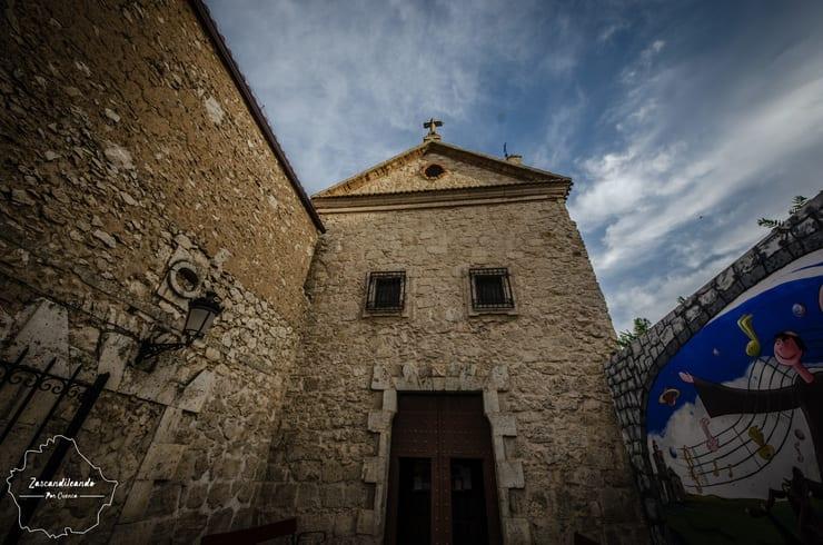 Entrada al Convento de Franciscanos, Tarancón