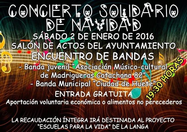 Concierto Solidario de Navidad en Huete