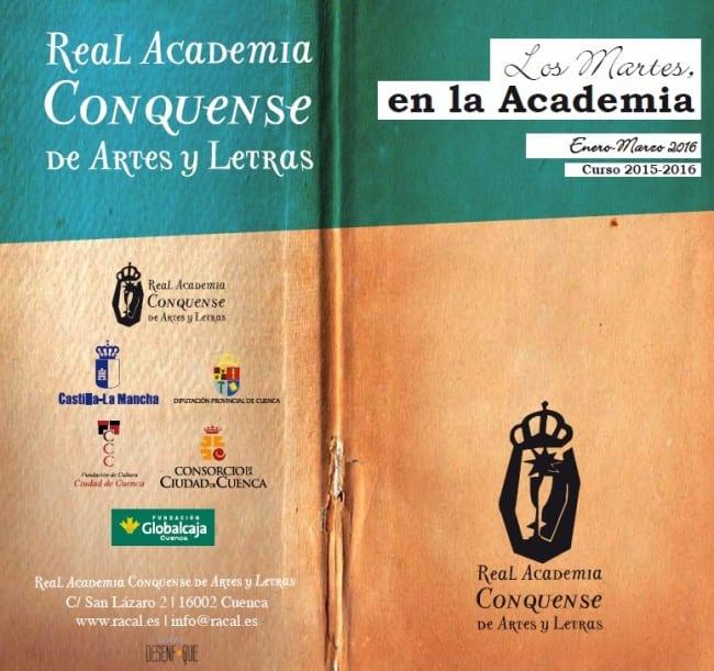 Los martes en la Real Academia Conquense de Artes y Letras