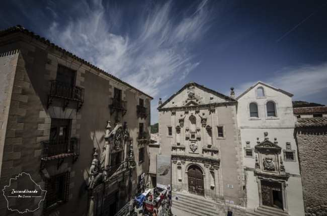 Plaza de la Merced en Cuenca