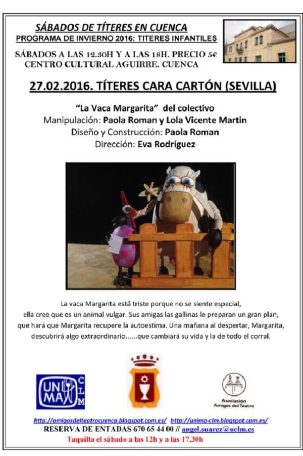 Titeres Cara Cartón en Cuenca