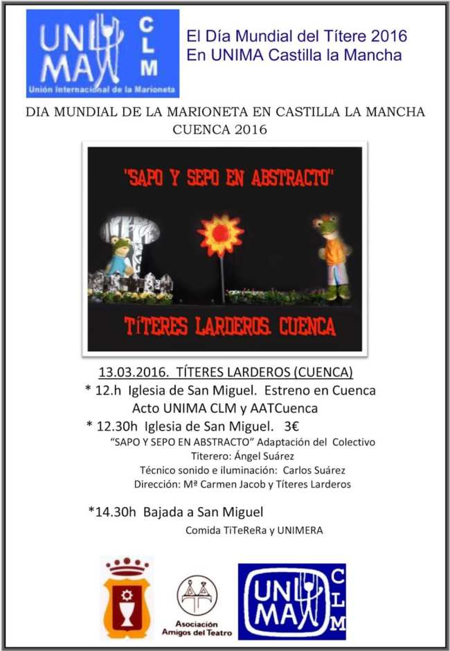 Día Mundial de la marioneta 2016 en Cuenca