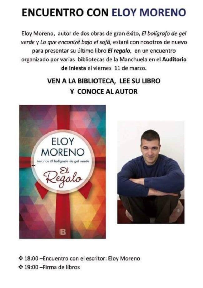 Encuentro con Eloy Moreno en la biblioteca de Iniesta