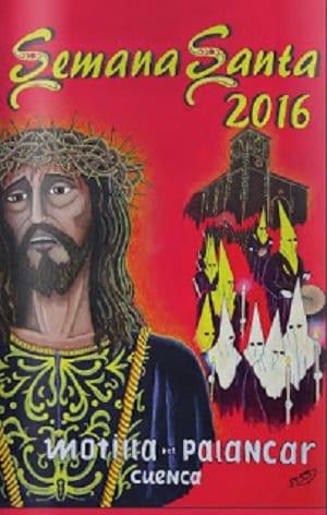 Cartel de la Semana Santa en Motilla del Palancar
