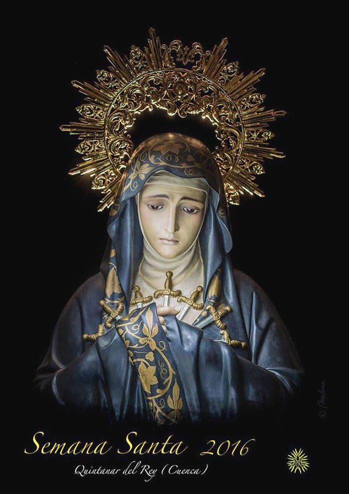 Cartel de la Semana Santa en Quintanar del Rey