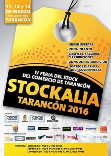 IV Feria del stock del comercio de Tarancón