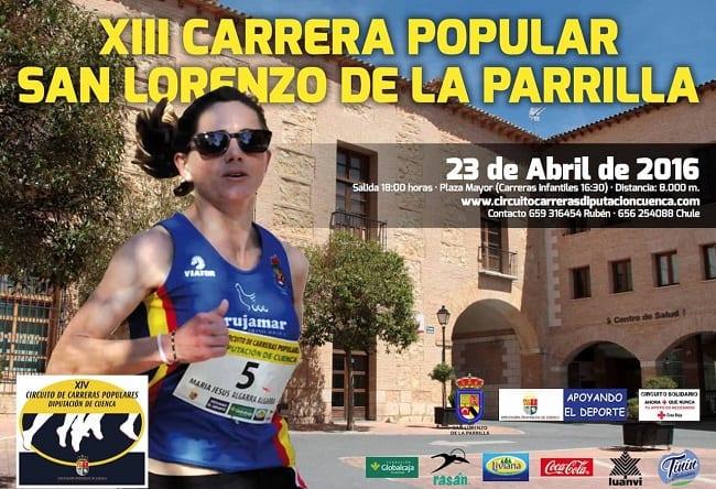 Carrera Popular San Lorenzo de la Parrilla 2016
